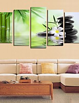 cheap -5 Panels Modern Canvas Prints Painting Home Decor Artwork Pictures DecorPrint Rolled  Stretched  Modern Art Prints Still Life Floral