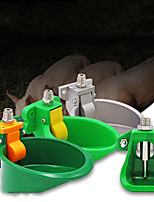 cheap -Sheep Water Bowls Drinking Tool Goat Pig Feeders Animal Feeder Plastics Automatic Drinking Trough Livestock Supplies