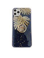 cheap -Case For Apple iPhone 11 / iPhone 11 Pro / iPhone 11 Pro Max Ring Holder / Pattern Back Cover Tree Rubber / Metal