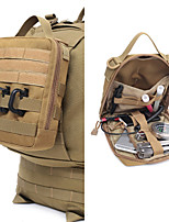 cheap -10 L Hiking Waist Bag Military Tactical Backpack Lightweight Rain Waterproof Anti-Slip Outdoor Hiking Climbing Camping Nylon Army Green Brown Black