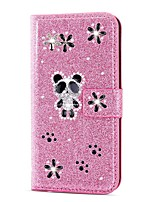 cheap -Case For Samsung Galaxy A51 / M40S / A71 Wallet / Shockproof Panda Diamond Glitter PU Leather Case For Samsung S20 Plus / S20 Ultra /A20e /A50s /A30s /A10 /A60 /A70/A80/S10 Lite (S10e)/S10 5G/S10 Plus