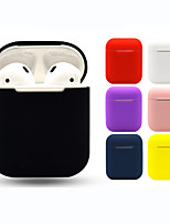 cheap -Headphone Carry Bag Simple Style Apple Airpods Shockproof Scratch-proof Silicon Rubber