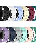 cheap -Watch Band for Fitbit Versa / Fitbi Versa Lite / Fitbit  Versa 2 Fitbit Sport Band Silicone Wrist Strap