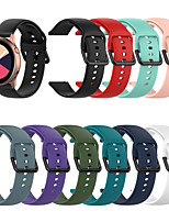 cheap -Watch Band for TicWatch C2 / Ticwatch 2 / Ticwatch E TicWatch Classic Buckle Silicone Wrist Strap