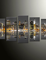 cheap -5 Panels Modern Canvas Prints Painting Home Decor Artwork Pictures DecorPrint Rolled Stretched Modern Art Prints Landscape Architecture