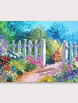 cheap -IARTS®Hand Painted Beautiful countrysideOil Painting   with Stretched Frame For Home Decoration