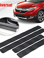 cheap -4pcs 4D Door Entry Guards Scratch Cover Protector Paint Threshold Guardcarbon fiber rubber car bumper Door Guard /Rear Bumper Guard Scratch scratch protection strip (0.05MM)