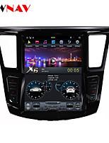 cheap -ZWNAV 12.1inch 1din 2GB 32GB Tesla style Android 6.0 Car multimedia player Car GPS Navigation Car MP5 Player For Infiniti QX60 Infiniti JX35 2012