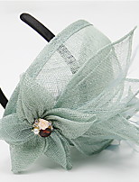 cheap -Net Hats with Solid 1 Piece Party / Evening Headpiece