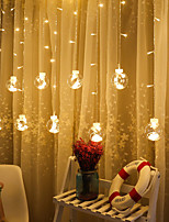 cheap -2.5m String Lights 12 LEDs 1pc Warm White Valentine's Day / Christmas Party / Decorative / Wedding 220 V