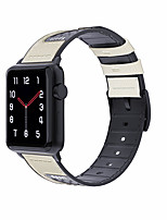 cheap -Watch Band for Apple Watch Series 5 / Apple Watch Series 4 / Apple Watch Series 3 Apple Sport Band Silicone Wrist Strap