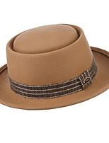cheap -Hat Wool Felt Hats / Headdress with Cap 1 Piece Daily Wear / Outdoor Headpiece