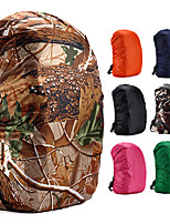 cheap -35 L Backpack Rain Cover Lightweight Rain Waterproof Anti-Slip Fast Dry Outdoor Hiking Climbing Camping Oxford Cloth Camouflage Pink Orange