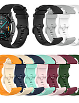 cheap -Watch Band for Huawei Watch GT2 46mm / Huawei Watch GT2 42mm Huawei Sport Band Silicone Wrist Strap