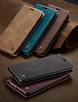 cheap -CaseMe New Business Leather Magnetic Flip Case For iPhone XS Max / X / XS / XR With Wallet Card Slot Stand Case Cover