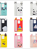 cheap -Case For Samsung Galaxy S9 / S9 Plus / S8 Plus Frosted / Pattern / DIY Back Cover Solid Colored / Cartoon TPU