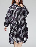 cheap -Hooded Raincoat Poncho Waterproof for Adults Men Women