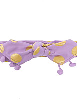 cheap -Kids Girls' Polka Dot Hair Accessories Black / White / Purple One-Size