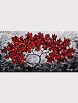 cheap -Newest Handmade Flower Abstract Oil Painting Art for Home Decor