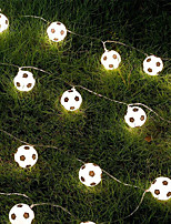 cheap -LED Russia World Cup Football Decoration Bar Theme Decoration Mall LED Lantern Creative Light String