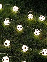 cheap -LED Russia World Cup Football Decoration Bar Theme Decoration Mall LED Lantern Creative Light String