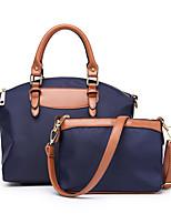 cheap -Women's Zipper Polyester / Nylon Bag Set Solid Color 2 Pieces Purse Set Black / Royal Blue / Red