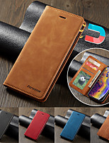 cheap -Luxury Leather Magnetic Flip Case for Samsung Galaxy A91 A81 A71 A51 A21 A01 A70 A70S A60 A50 A50S A40 A30 A30S A20 A10 A20E M10 A6 2018 A7 2018 A8 2018 Note 10 Note 10 Plus Note 9