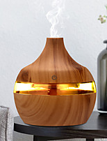 cheap -300ml USB Electric Aroma air diffuser wood Ultrasonic air humidifier Essential oil Aromatherapy cool mist maker for home car