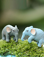 cheap -Dollhouse Accessory Office Desk Toys Lovely DIY Elephant Furniture Resin 1 pcs Adults' All Toy Gift