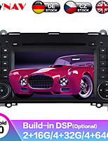 cheap -ZWNAV 7inch 2din Android 9.0 Car DVD Player Car MP5 Player GPS Auto Stereo Radio Car Multimedia Player For Mercedes Benz B200 / B-class / W245 / B170 / W169