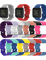 cheap -Watch Band for Fitbit Versa / Fitbit Versa Lite / Fitbit Versa2 Fitbit Sport Band Silicone Wrist Strap