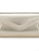 cheap -Women's Chain Polyester / PU Evening Bag Solid Color Gold / Silver / Black