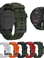 cheap -Watch Band for SUUNTO 9 Suunto Modern Buckle Silicone Wrist Strap