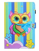 cheap -Case For Samsung Galaxy Tab A2 10.5(2018) / Samsung Tab A 10.1(2019)T510 / Samsung Tab A 8.0(2019)T290/295 Card Holder / with Stand / Flip Full Body Cases Animal PU Leather