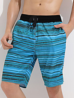 cheap -Men's Swim Trunks Elastane Bottoms Breathable Quick Dry Swimming Surfing Water Sports Summer / Stretchy