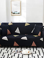 cheap -Nordic Geometric Contrast Elastic Sofa Cover Full Package Single Double Three Person Sofa Cover