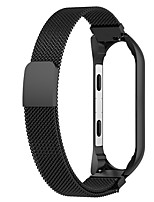 cheap -Watch Band for Xiaomi Mi Band 4 Xiaomi Milanese Loop Stainless Steel Wrist Strap