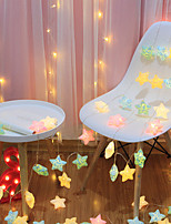 cheap -LED Crack Star Lights String Lights Flashing Lights Battery Starry Christmas Dormitory Wedding Decoration