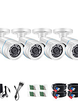 cheap -ZOSI 4pcs/lot 1080p HD TVI CVI CVBS AHD CCTV Security Camera 65ft Night Vision Outdoor Whetherproof Surveillance Camera Kit for Surveillance System DVR Kit