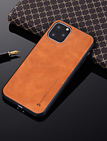 cheap -Case For Apple iPhone 11 / iPhone 11 Pro / iPhone 11 Pro Max Shockproof Back Cover Solid Colored PU Leather