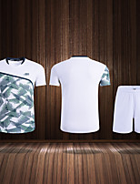 cheap -Men's Clothing Suit Short Sleeve Tennis Golf Sports Outdoor Summer / High Elasticity / Quick Dry / Breathable