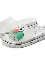 cheap -Women's Slippers & Flip-Flops Flat Heel Round Toe PU Summer Black / Yellow / Green