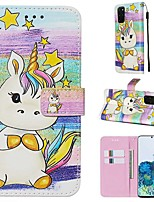 cheap -Case For Samsung Galaxy A90/Galaxy A80/Galaxy A50s Wallet / Card Holder / with Stand Full Body Cases Animal PU Leather For Galaxy A51/A71/S20/S20 Plus/S20 Ultra/A10S/A20S/A30S