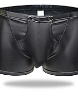 cheap -Men's Basic Boxers Underwear / Briefs Underwear - Normal Low Waist Black M L XL