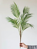 cheap -1 Branch Vivid Artificial Plants Home Decor Creative Wedding Party Display Simulation Leaves Decor