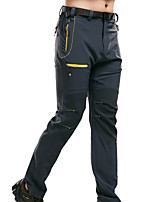 cheap -Men's Hiking Pants Stripes Outdoor Waterproof Breathable Quick Dry Sweat-wicking Pants / Trousers Bottoms Hunting Fishing Climbing Grey Black 4XL L XL XXL XXXL Standard Fit / Wear Resistance