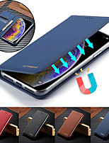 cheap -Luxury Case for iPhone 11 11 Pro 11 Pro Max X XS XR XS Max 8 8 Plus 7 7 Plus 6S 6S Plus Phone Case Leather Flip Wallet Magnetic Cover With Card