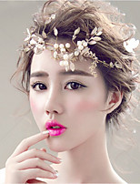 cheap -Women's Hair Jewelry For Wedding Engagement Party Wedding Geometrical Alloy Gold 1pc