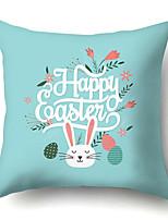 cheap -Easter Cartoon Rabbit Pillow Case Digital Print Sofa cushion pillow case