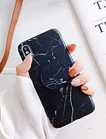 cheap -Case For Apple iPhone 11 / iPhone 11 Pro / iPhone 11 Pro Max Shockproof / with Stand Back Cover Solid Colored / Marble TPU